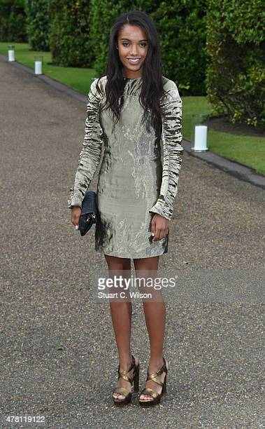 Maisie RichardsonSellers attends the Vogue and Ralph Lauren Wimbledon party at The Orangery on June 22 2015 in London England