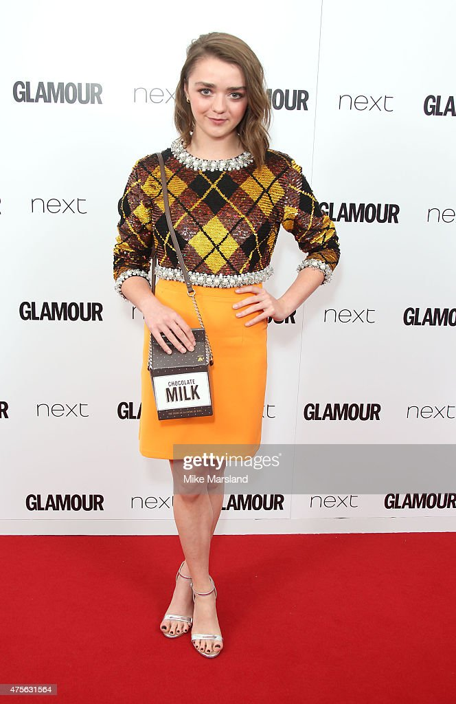 Maisie Williams attends the Glamour Women Of The Year Awards at Berkeley Square Gardens on June 2 2015 in London England