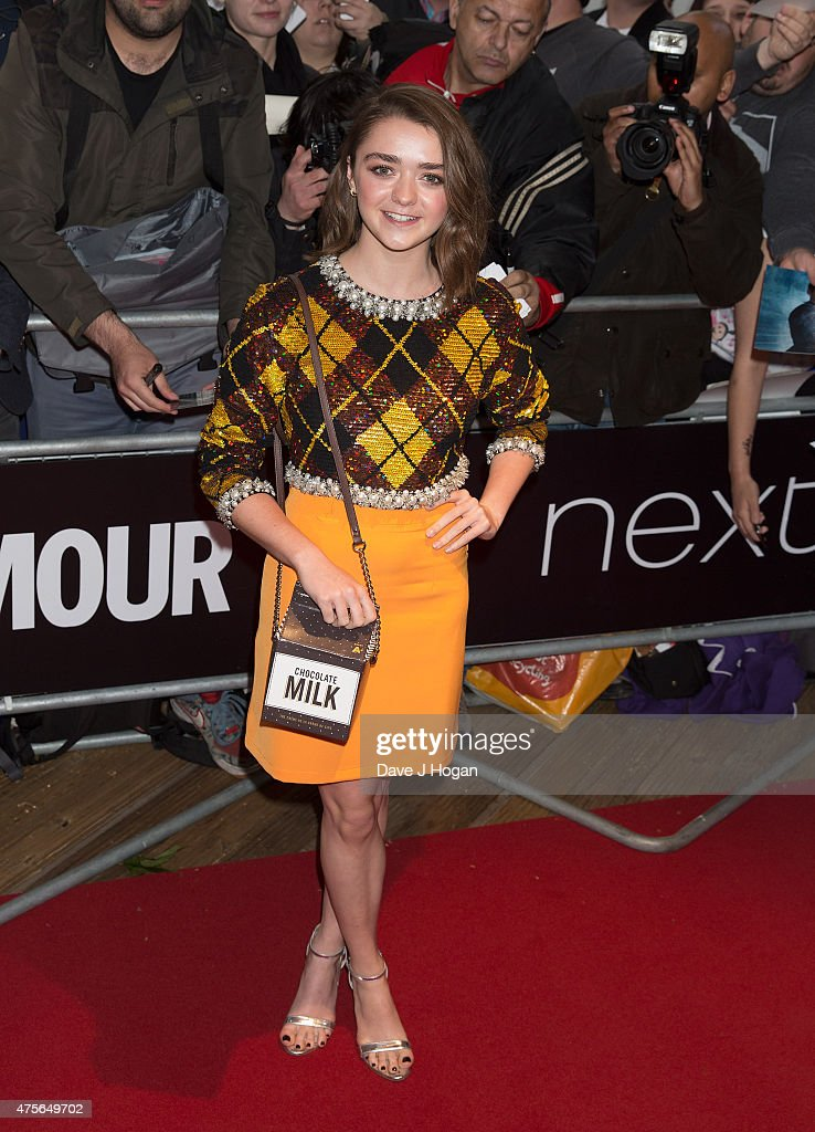 Maisie Williams attends the Glamour Women of The Year Awards at Berkeley Square Gardens on June 2, 2015 in London, England.