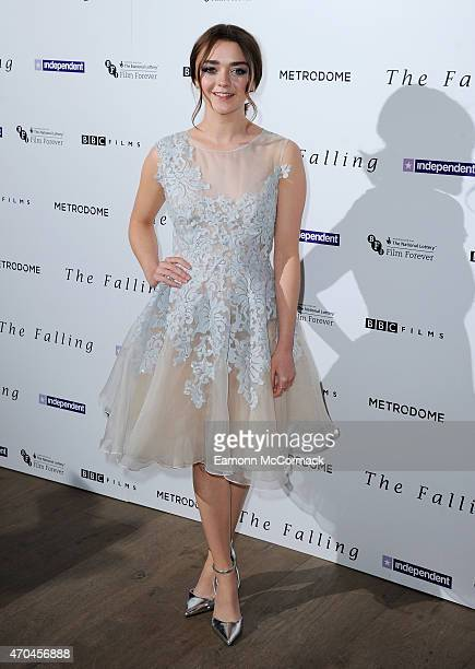 Maisie Williams attends the London gala screening of 'The Falling' at Ham Yard Hotel on April 20 2015 in London England