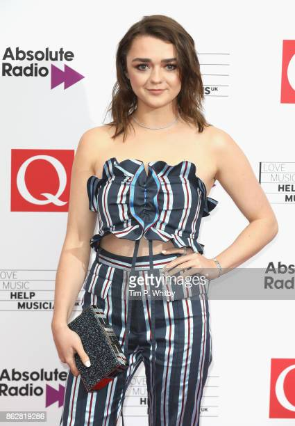 Maisie Williams attends the Q Awards 2017 in association with Absolute Radio held at the Roundhouse on October 18 2017 in London England