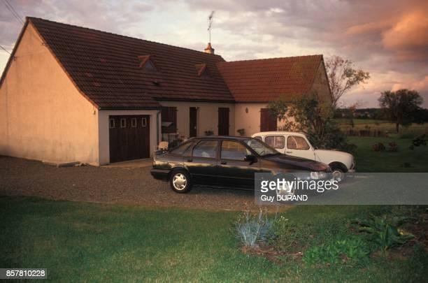 Maison de la famille Leprince ou ont ete assassines Christian Leprince sa femme et deux de ses filles le 5 septembre 1994 a ThorigneSurDue France