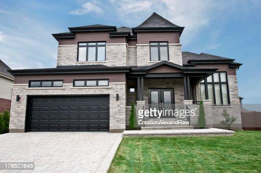 maison moderne pierre et bois moderne en bois et maison de