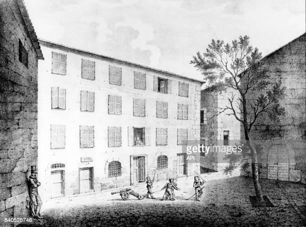 Maison natale de Napoléon Bonaparte à Ajaccio France
