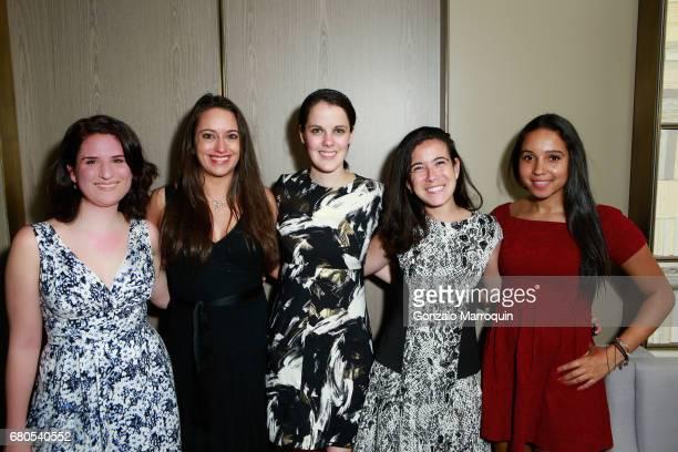 Maite Alvarenga Gillian Henry Kelly Maurer Sarah Newman and Kiana Lundy attend The New York Center For Children 22nd Annual Spring Celebration...
