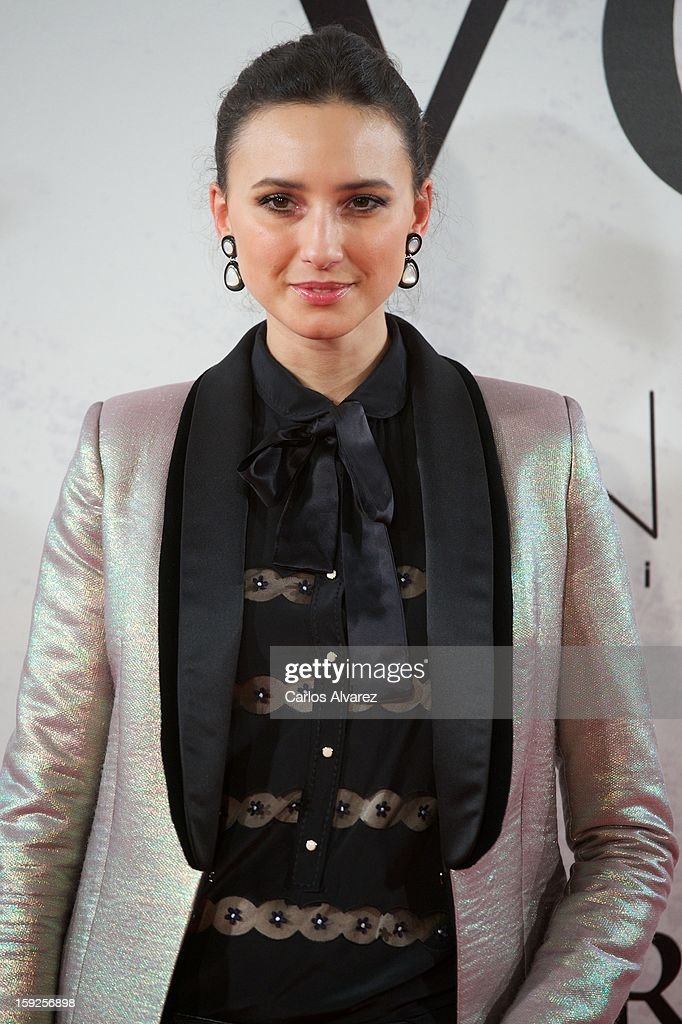Maite de la Iglesia attends 'Venuto Al Mondo' (Volver A Nacer) premiere at Capitol cinema on January 10, 2013 in Madrid, Spain.