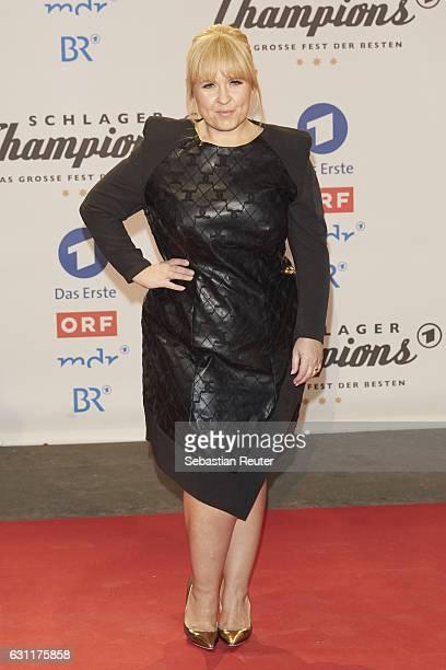 Maite Kelly attends the 'Das grosse Fest der Besten' tv show at Velodrom on January 7 2017 in Berlin Germany