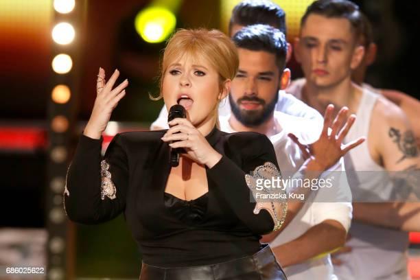Maite Kelly during the tv show 'Willkommen bei Carmen Nebel' at Velodrom on May 20 2017 in Berlin Germany