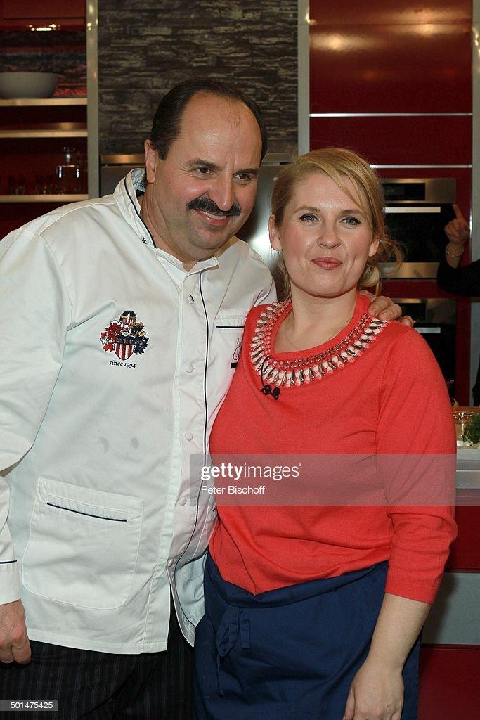 Maite Kelly, Johann Lafer, ZDF-Koch-Show