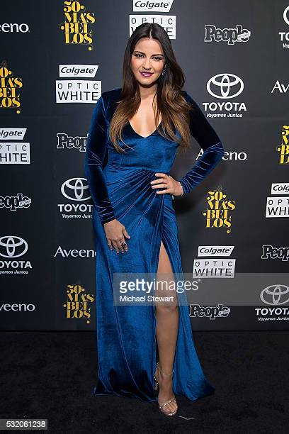 Maite Perroni attends People En Espanol '50 Most Beautiful' at Espace on May 17 2016 in New York City