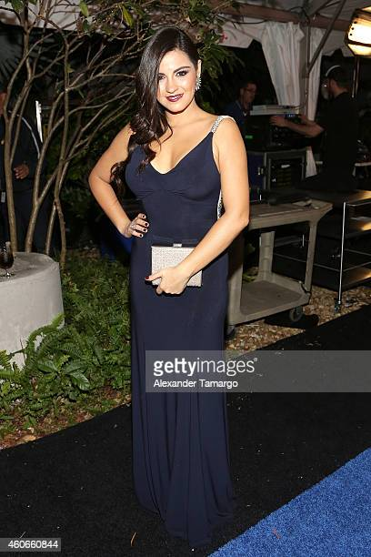 Maite Perroni attends the inaugural Premios Univision Deportes at Univision Studios on December 17 2014 in Miami Florida