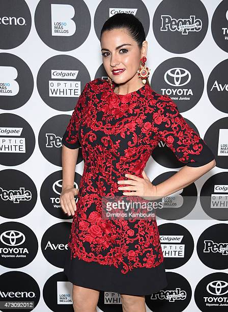 Maite Perroni attends the People En Espanol's '50 Most Beautiful' 2015 Gala on May 12 2015 in New York City