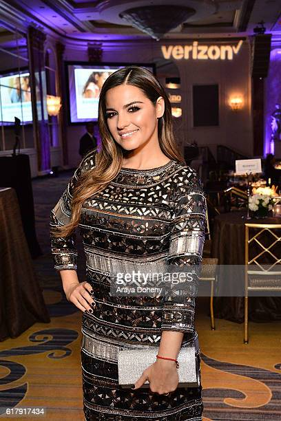 Maite Perroni attends the The Paley Center for Media's Hollywood Tribute to Hispanic Achievements in Television at the Beverly Wilshire Four Seasons...