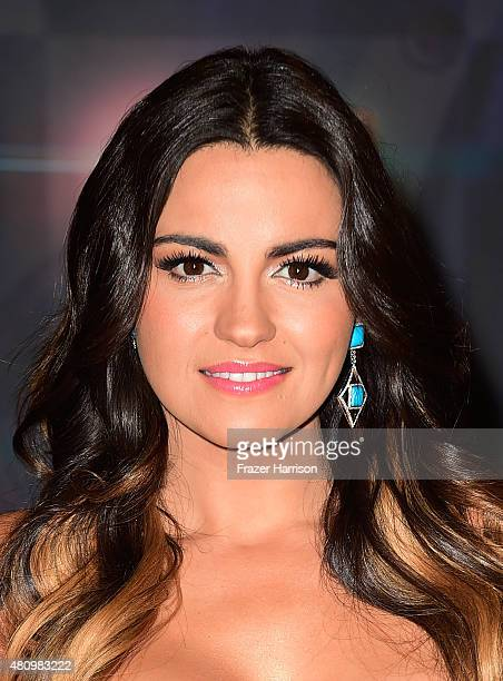 Maite Perroni attends Univision's Premios Juventud 2015 at Bank United Center on July 16 2015 in Miami Florida