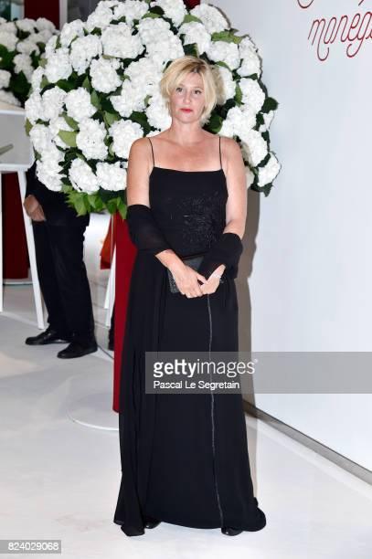 Maitena Biraben attends the 69th Monaco Red Cross Ball Gala at Sporting MonteCarlo on July 28 2017 in MonteCarlo Monaco