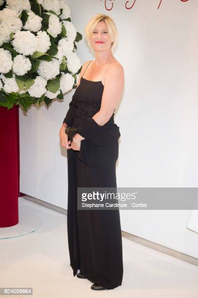Maitena Biraben attends the 69th Monaco Red Cross Ball Gala at Sporting MonteCarlo on July 28 2017 in MonteCarlo Monaco