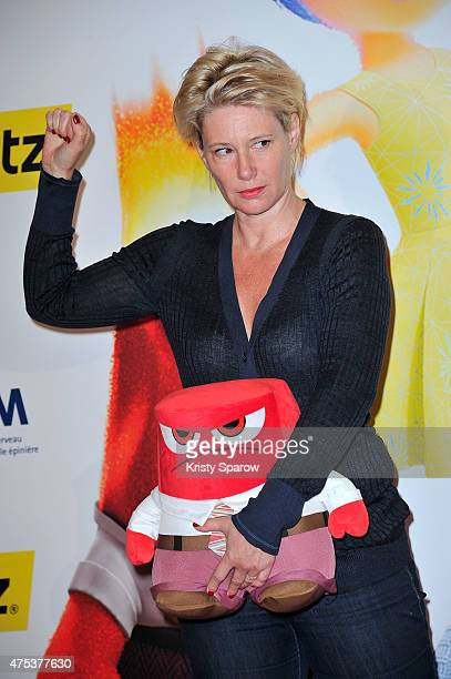 Maitena Biraben attends the 'Inside Out Vice Versa' Paris Premiere at Le Grand Rex on May 31 2015 in Paris France