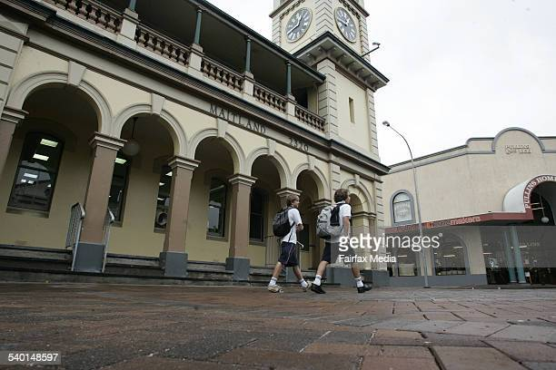 Maitland CBD Maitland Post Office on High Street Maitland 5 February 2007 NCH NEWS Picture by PETER STOOP