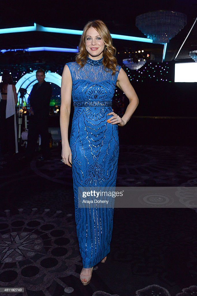 <a gi-track='captionPersonalityLinkClicked' href=/galleries/search?phrase=Maitland+Ward&family=editorial&specificpeople=2850630 ng-click='$event.stopPropagation()'>Maitland Ward</a> attends the 5th Annual Thirst Gala hosted by Jennifer Garner in partnership with Skyo and Relativity's 'Earth To Echo' at The Beverly Hilton Hotel on June 24, 2014 in Beverly Hills, California.