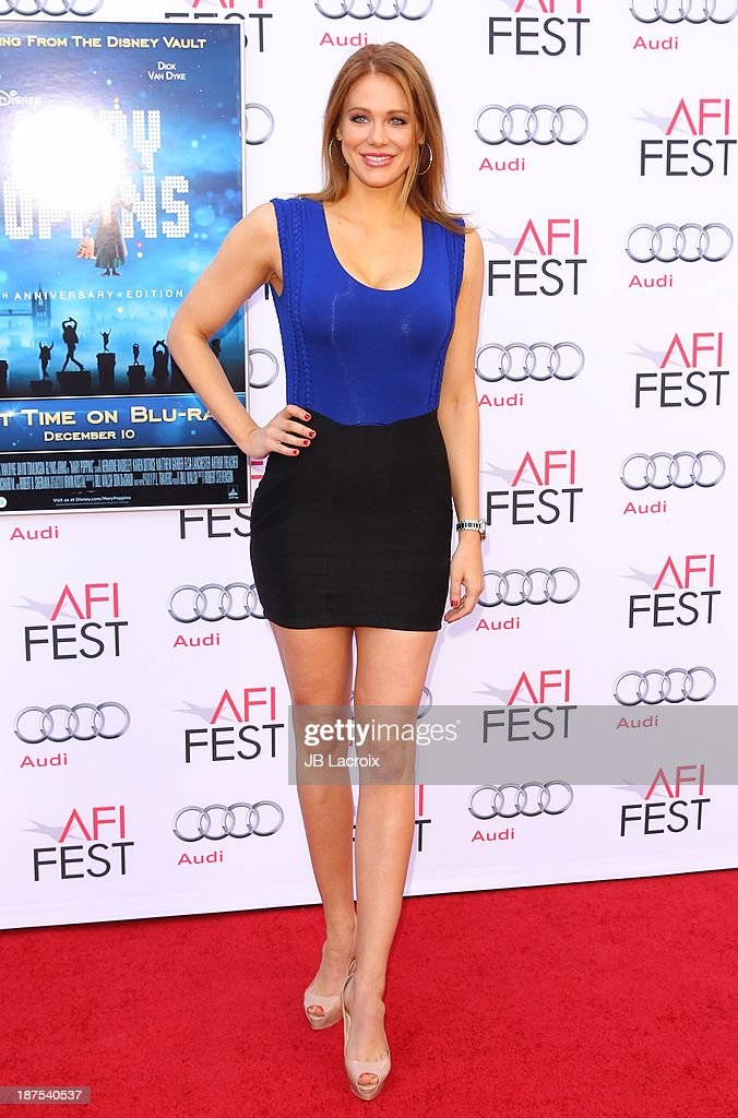 Maitland Ward attends the AFI FEST 2013 Presented By Audi - 'Mary Poppins' 50th Anniversary Edition held at TCL Chinese Theatre on November 9, 2013 in Hollywood, California.