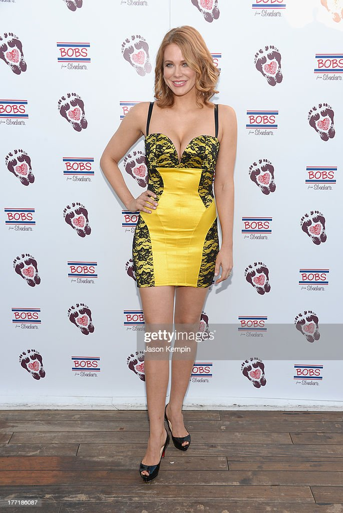 Maitland Ward attends the Bobs From Skechers Summer Soiree at SkyBar at the Mondrian Los Angeles on August 21, 2013 in West Hollywood, California.