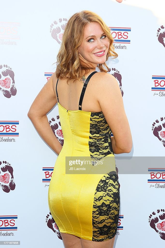 Maitland Ward attends the Bobs From Skechers 'Summer Soiree' hosted by brand ambassador Brooke Burke-Charvet held at SkyBar at the Mondrian Los Angeles on August 21, 2013 in West Hollywood, California.