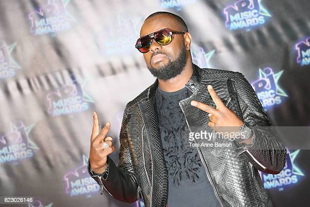 Maitre Gims arrives at the 18th NRJ Music Awards at the Palais des Festivals on November 12 2016 in Cannes France