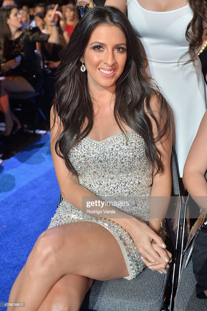 Maity Interiano attends Premio Lo Nuestro a la Musica Latina 2014 at American Airlines Arena on February 20, 2014 in Miami, Florida.