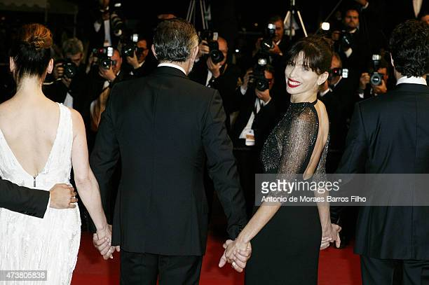 Maiwenn attends the 'Mon Roi' premiere during the 68th annual Cannes Film Festival on May 17 2015 in Cannes France