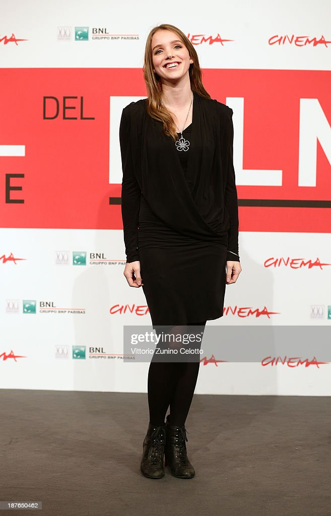Maja Dybboe attends the 'Sorrow And Joy' Photocall during the 8th Rome Film Festival at the Auditorium Parco Della Musica on November 11, 2013 in Rome, Italy.