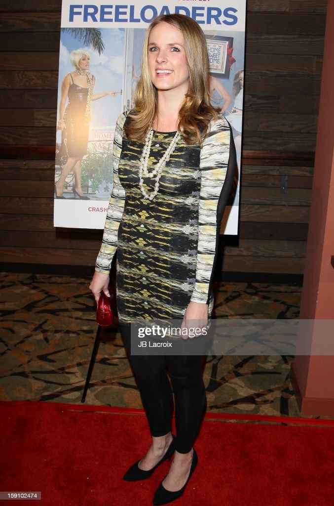 Maja Miletich attends the 'Freeloaders' premiere held at Sundance Cinema on January 7 2013 in Los Angeles California