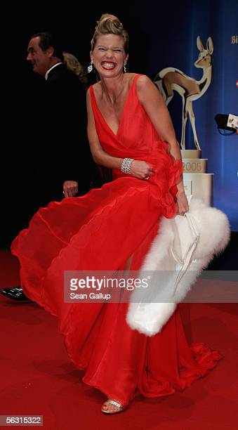 Maja Princess of Hohenzollern arrives for the 57th annual Bambi Awards at the International Congress Center on December 01 2005 in Munich Germany