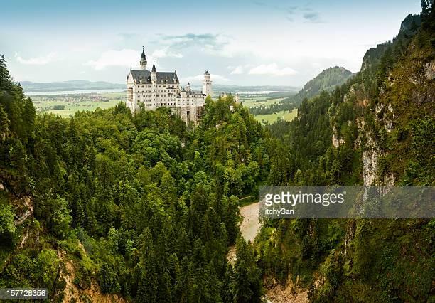 Majestätische Schloss Neuschwanstein