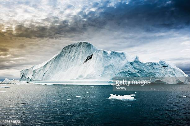 Majestic Iceberg North Pole Groenland Artic l'eau