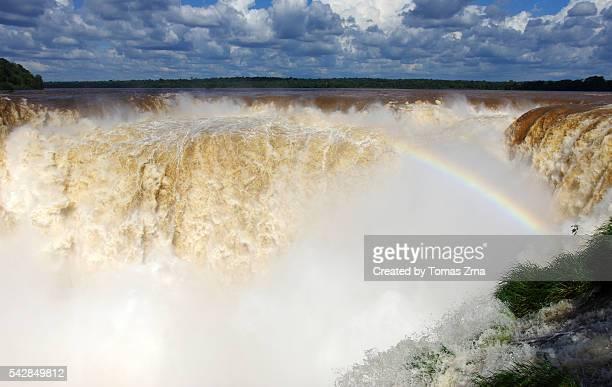 Majestic Iguazu Falls at Devil's Throat