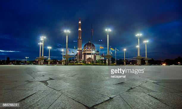 Majestic Mosque during blue hour