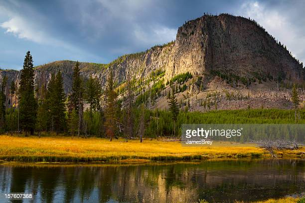 Majestic Mt Hayden in Yellowstone National Park; American West