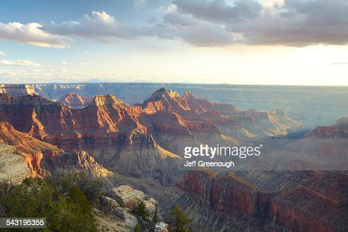 Majestic rock formations in desert landscape, Page, Arizona, United States
