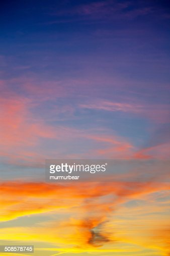 majestic sunset : Stockfoto