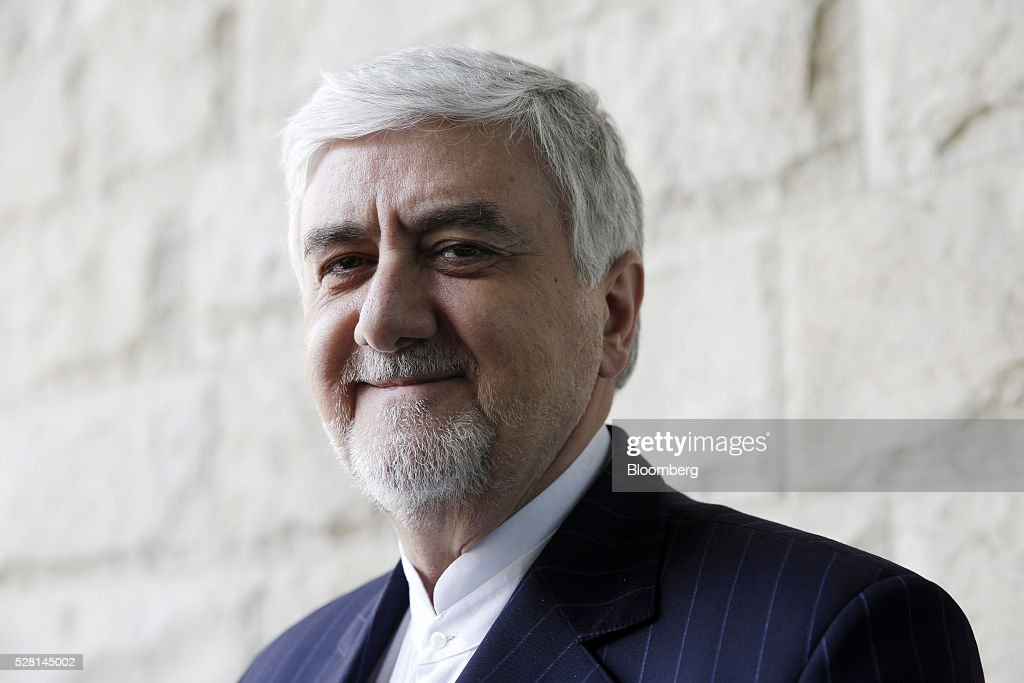 Majid Ghassemi, chief executive officer of Bank Pasargrad, poses for a photograph during the Europe-Iran Forum in Zurich, Switzerland, on Wednesday, May 4, 2016. The U.S., Russia and European countries in January lifted a series of economic sanctions in exchange for Iran's agreement to curb its nuclear activities. Photographer: Matthew Lloyd/Bloomberg via Getty Images