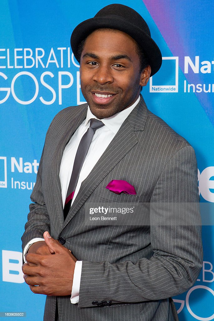 Major arrives at the BET Network's 13th Annual 'Celebration of Gospel' at Orpheum Theatre on March 16, 2013 in Los Angeles, California.