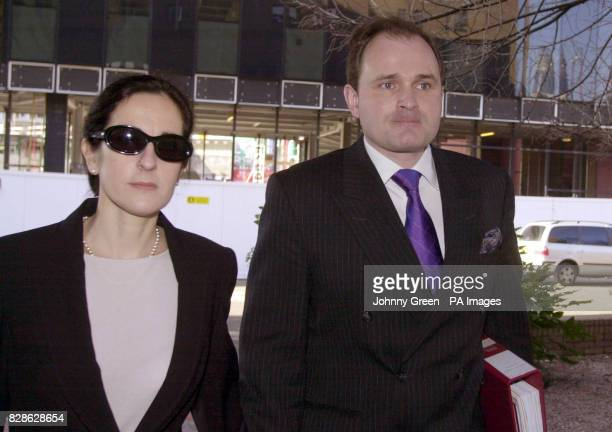 Major Charles Ingram and his wife Diana arrive at Southwark Crown Court London The couple from Easterton Wiltshire together with a third person...