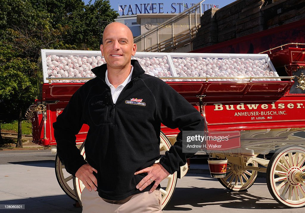 Major <a gi-track='captionPersonalityLinkClicked' href=/galleries/search?phrase=Dan+Rooney&family=editorial&specificpeople=725695 ng-click='$event.stopPropagation()'>Dan Rooney</a> helps announce the $2 million donation Budweiser made to The Folds of Honor Foundation at Yankee Stadium on October 5, 2011 in New York City. Budweiser donated $100 for every long ball hit this year as part of the Here's to Heroes Home Run Program.