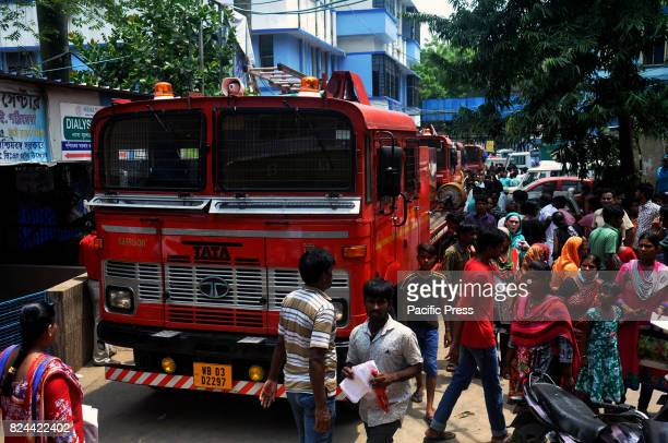 Major fire breaks at the Calcutta National Medical College on Saturday noonPatients were evacuated and four fire tenders were pressed into service to...