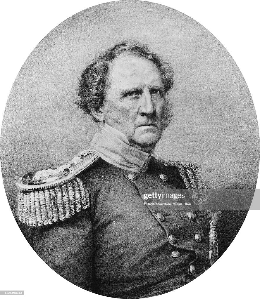 Major General Winfield Scott Major General Winfield Scott An American Army Officer Who Held The Rank Of General In Three Wars And Was The...