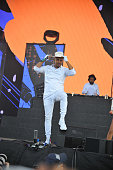 Major Lazer performs during 2016 Panorama NYC Day 1 at Randall's Island on July 22 2016 in New York City