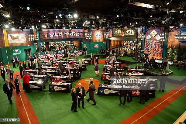 Major League Baseball 2014 FirstYear Player Draft Thursday June 5 at MLB Network's Studio 42 in Secaucus New Jersey