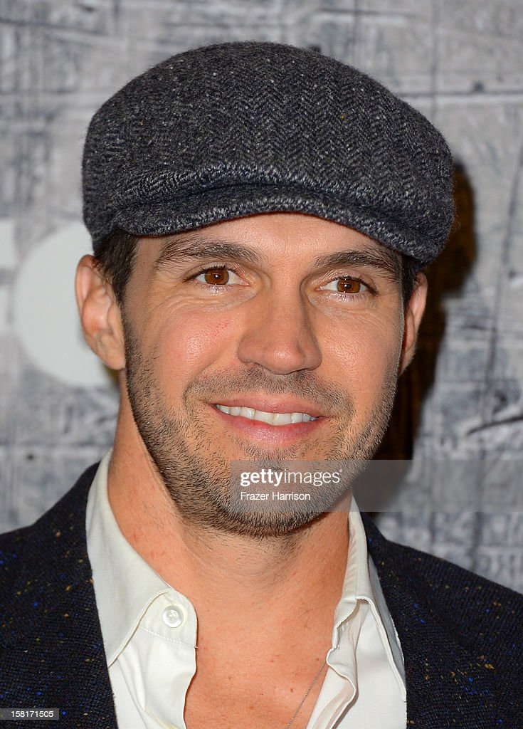Major League Baseball pitcher Barry Zito arrives at the 2012 American Country Awards at the Mandalay Bay Events Center on December 10, 2012 in Las Vegas, Nevada.