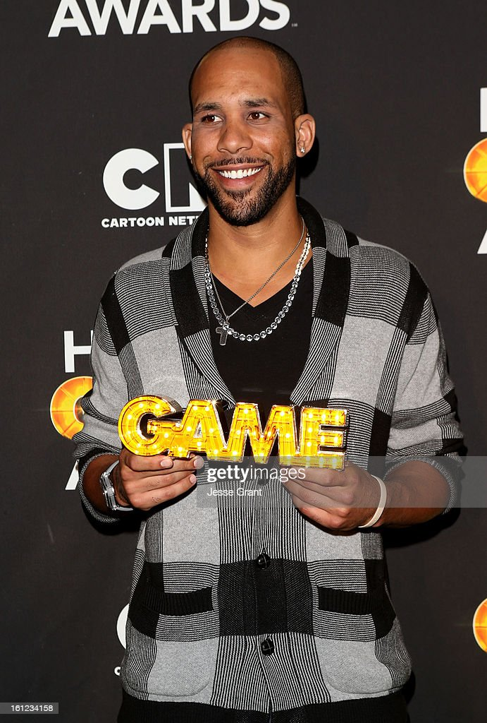 Major League Baseball Player David Price attends the Third Annual Hall of Game Awards hosted by Cartoon Network at Barker Hangar on February 9, 2013 in Santa Monica, California. 23270_004_JG_0107.JPG