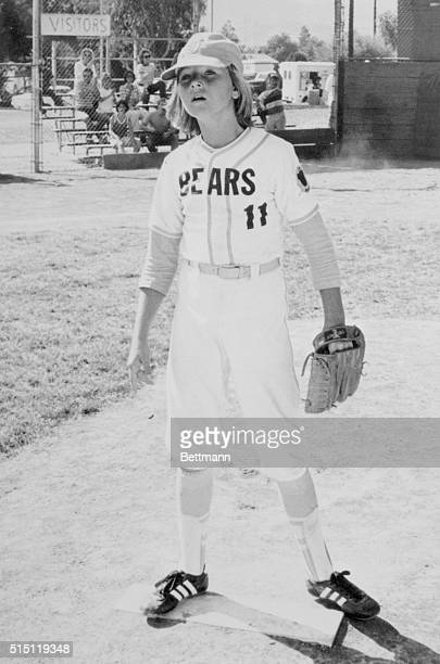 Major League Star Chatsworth Calif Her pitching form may not be comparable to that of 'Catfish' Hunter or Tom Seaver but this little lady is a big...